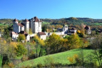 Curemont village self guided walking centre France